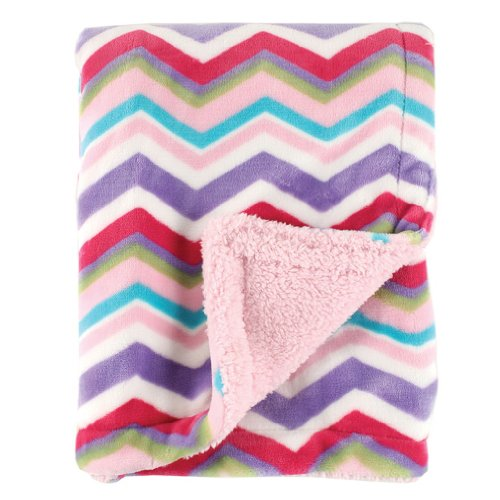 Hudson Baby Double Layer Blanket, Pink ()