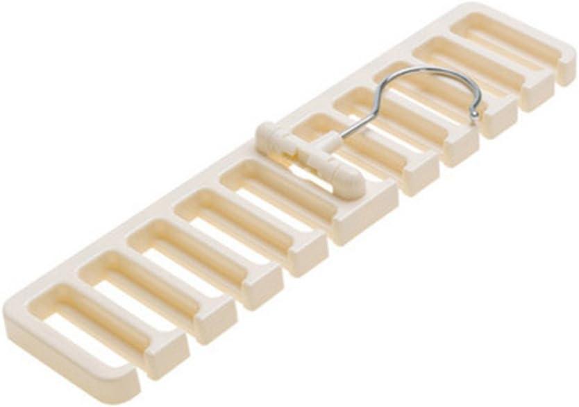 Plastik Einheitsgr/ö/ße braun Steellwingsf Strapazierf/ähige Herren Kunststoff G/ürtel Schal Rack Organizer Krawattenhalter Organizer