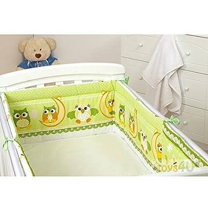 Nestchen 30x420 30x350cm Bettumrandung Bettausstattung Bettnestchen Kantenschutz (350x30 cm, D26) toys4u