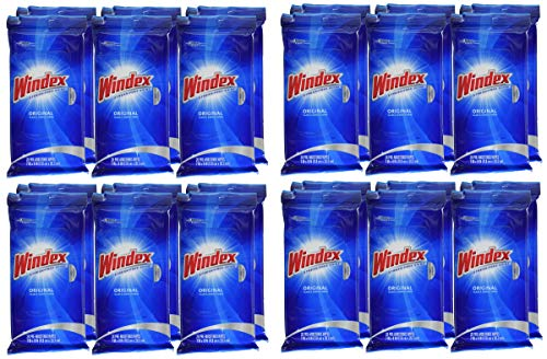 BGXZ Original Glass Wipes, 28 ct, 4 Pack of 6 by Windex (Image #6)