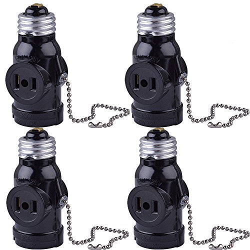 Outdoor Light Bulb Outlet Adapter in US - 9