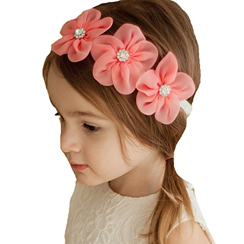 Miugle Baby Girl Headbands with Bows