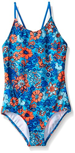 Kanu Surf Big Girls Karlie Flower One Piece