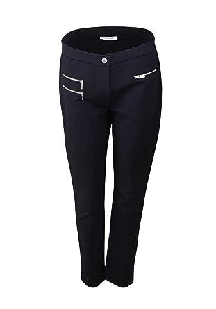 6f97e35d8ee2 Betty Barclay Hose Stretchanteil Reißverschlusstaschen schwarz  Amazon.de   Bekleidung
