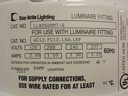 Day Brite Lighting LLB250MMT Luminaire Fitting T77257