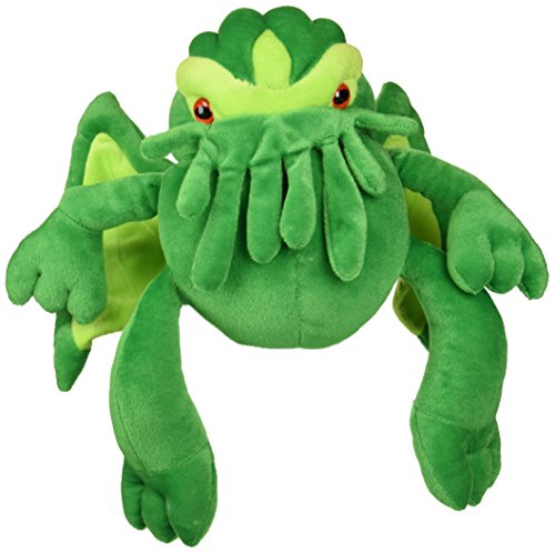 Toy Vault Cthulhu Plush, 12-Inch; Stuffed Horror Monster Toy Based on H.P. Lovecraft's Weird Fiction, Medium Size