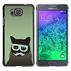 - GLASSES FELINE CAT MOUSTACHE HIPSTER ART - - Monedero pared Design Premium cuero del tir???¡¯???€????€?????n magn???&rsquo