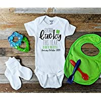 Extra Lucky This Year St Patricks Day Pregnancy Announcement Onesie