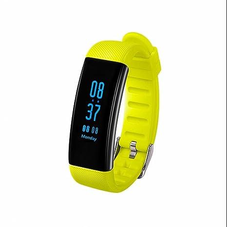 Monitor de actividad,Pulsera de Actividad,Pulsera Reloj Inteligente con Sueño,Podómetro,