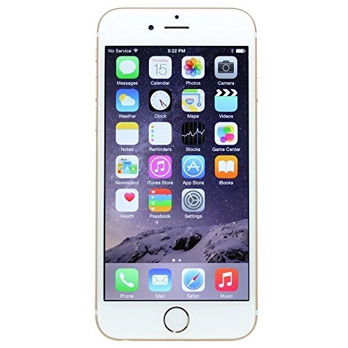 Apple iPhone 6 16GB Factory Unlocked GSM 4G LTE Smartphone, Space Grey (Certified Refurbished)