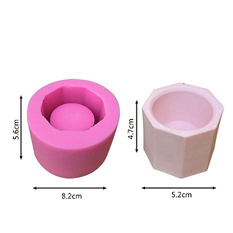 DIY molde de silicona, Starter DIY moldes de yeso carnosas macetas de silicona herramientas de