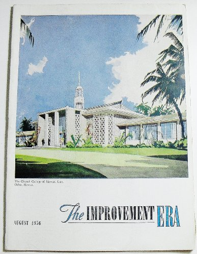 Books : The Improvement Era (Volume 59 Number 8, August 1956)