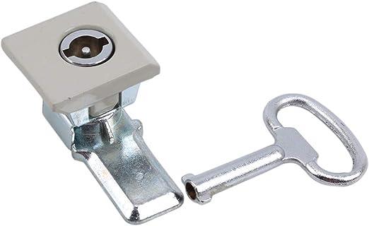 Weisin - Cerradura de Seguridad para Puerta de Armario (Metal, un ...
