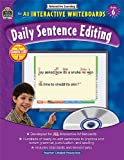 Interactive Learning: Daily Sentence Editing Grd 6, Teacher Created Resources Staff, 1420638912