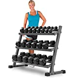 XMark 4 ft. Three Tier Dumbbell Rack XM-3107.1 For Sale