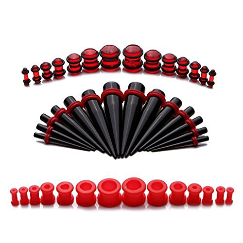 BodyJ4You Pieces Silicone 8G 12mm Stretching product image