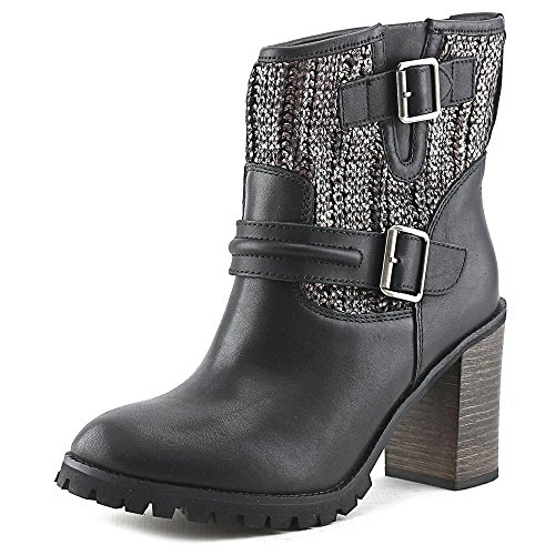 Chinese Laundry Women's Leafy Boot, Black/Pewter Leather,  11 M US
