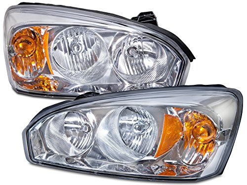 HEADLIGHTSDEPOT Compatible with Chevy Malibu Headlights OE Style Replacement Headlamps Driver/Passenger Pair New ()