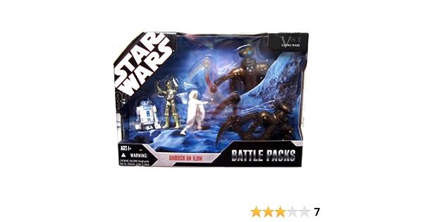 Chameleon Droid from Star Wars 30th TAC Clone Wars Ambush on Ilum Battle Pack