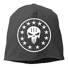 Three Percenter Punisher Skull Baby Winter Warm Daily Slouchy Beanie Ski Cap Hat