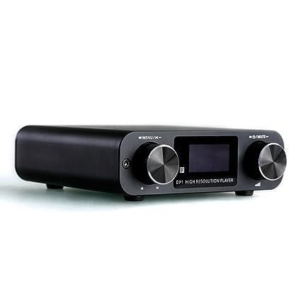 SMSL DP1 3 en 1 Digital alta fidelidad reproductor Tocadiscos Audio DAC Digital Analog corriente con amplificador de auriculares