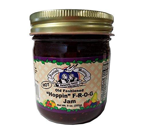 - Amish Made Hoppin F-R-O-G Jam - 9 oz. - 2 Jars
