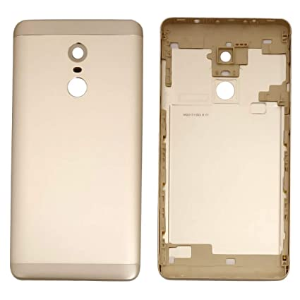 best service e4c30 1a140 Pacificdeals Housing Body Panel For Xiaomi Mi Note 4 / Redmi Note 4 With  Camera Lens + Power & Volume Key - Gold