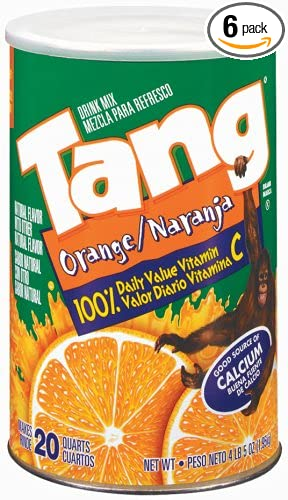 Tang Orange Powdered Drink Mix, 6.94-Ounce Units (Pack of 6)
