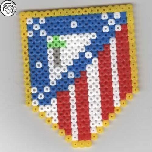 Atletico Madrid Pixel Art Perler Beads Perles à