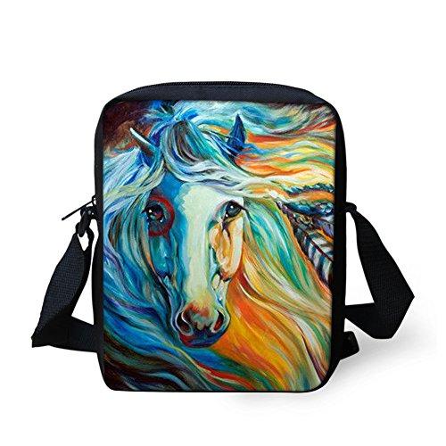 Coin HUGS Funny Mini Printed Horse4 Women Bag Horse Cross Bags Sling Girl Mini Bosy for Purse Shoulder IDEA rrT5wx8qZ