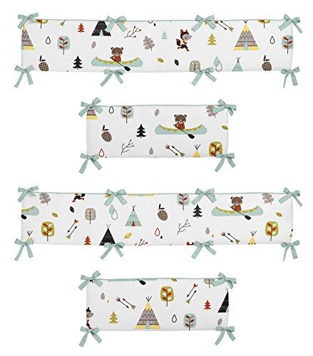 Sweet Jojo Designs Outdoor Adventure Collection Crib Bumper
