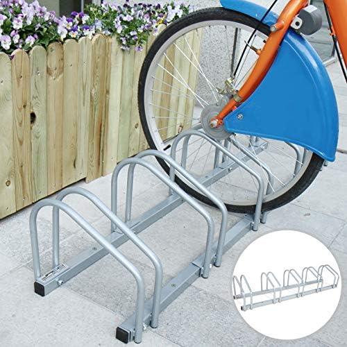 Choix de Taille Rack /à V/élos R/ésistant /à leau en Fer Jago R/âtelier Range-V/élo pour Mur ou Sol Support de Rangement pour Bicyclette Parking