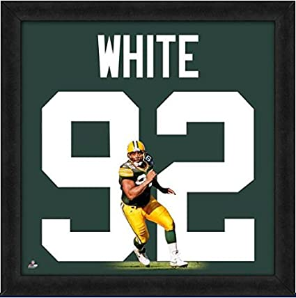 sports shoes 74662 7f848 Amazon.com: Green Bay Packers Reggie White #92 Players ...