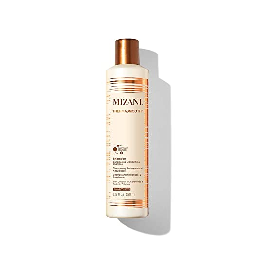 MIZANI Thermasmooth Anti-Frizz Shampoo Helps Moisturize & Detangle Hair with Coconut Oil for Dry Hair