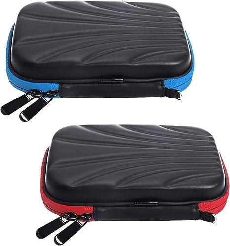 Injoyo Estuche para Dardos EVA Shell De 2 Paquetes con Capacidad para 12 Dardos Vuelos Bolsas De Almacenamiento Estuches: Amazon.es: Deportes y aire libre