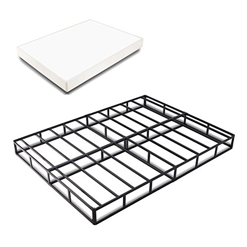 Heavy Duty 9 Inch Innovative Box Spring/ Strong Steel Structure Mattress Foundation (Easy Assembly by 12 Screws) King by HOMDOCK