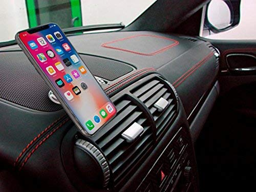 5N52 Car Phone Mount Magnets Hands Free Universal Smart GPS Cell Phone Holder for Car Air Vent Mount for iPhone 11 Pro XS X 8 7 Plus Samsung Galaxy S10 S9 S8 Note 10 Magnetic Phone Car Mount 2 Pack