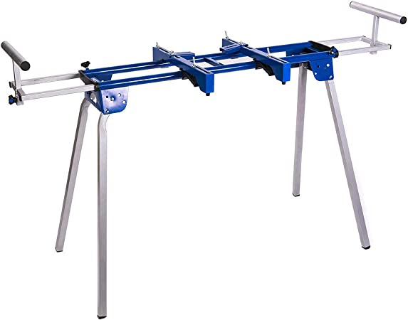 Miter Saw Stand Steel Durable Light Weight Portable Powder Coated Wheel Folding