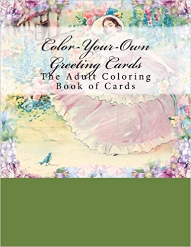Amazon color your own greeting cards the adult coloring book color your own greeting cards the adult coloring book of cards m4hsunfo