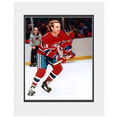 Photo File Montreal Canadiens Guy Lafleur 8x10 Matted Photograph