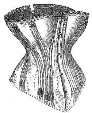 1877 Coutil Spoonbill Corset Pattern - 24