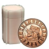 20 Rounds- Mayan Calendar 1 oz .999 Copper Bullion Rounds