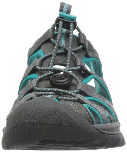 Keen Whisper 5124-JGNG - Sandalias para mujer, color negro, talla 40,5 Gris (Dark Shadow/ceramic)