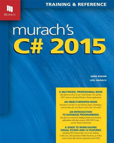 Murach's C# 2015:Training+Reference (eBook)