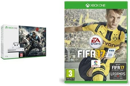 Xbox One - Consola S 1 TB: Pack Gears Of War 4 + FIFA 17 ...
