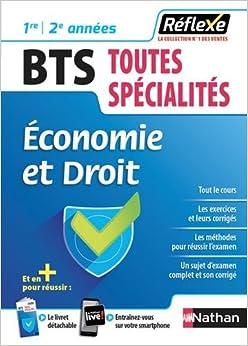 Economie et Droit BTS 1re/2e années