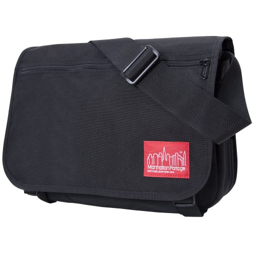 Manhattan Portage Medium Europa Messenger Bag (Black)