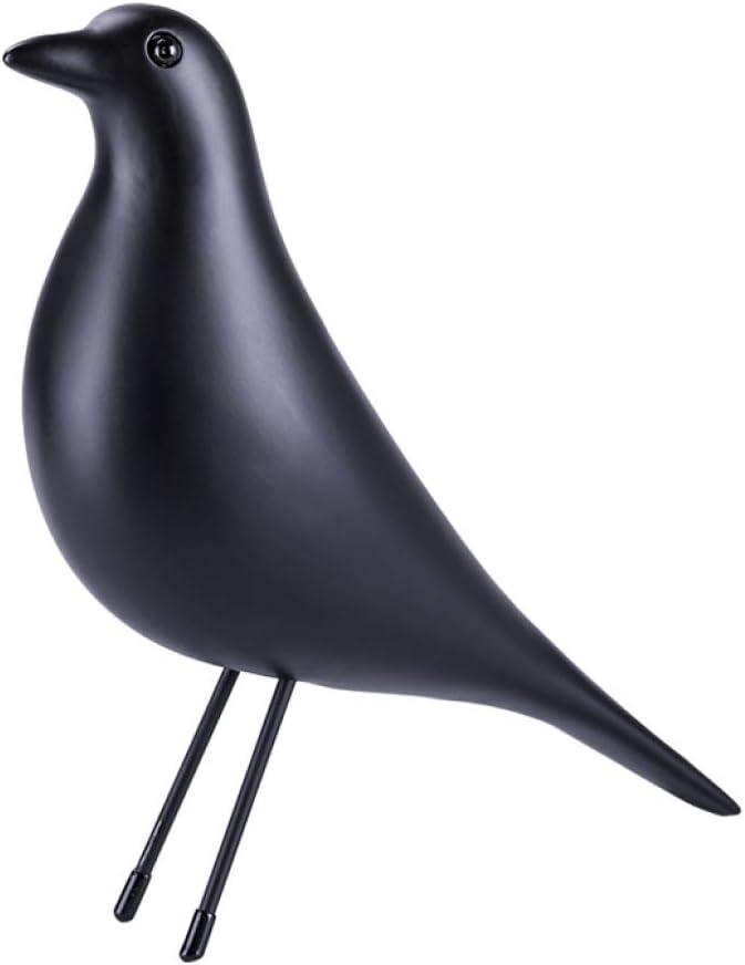PANRODO Creative Bird Sculpture Bird Figurines Animal Table Ornaments Decorations Garden Inspired Indoor Decor Statue