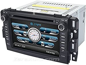 Chevrolet Tahoe Suburban GMC Yukon In-Dash GPS Navigation Stereo DVD Player Bluetooth AV Receiver