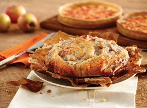 Long Grove Apple Pie & 2 Lou Malnati'sChicago-Style Deep Dish Pizzas (1 Sausage 1 Pepperoni)